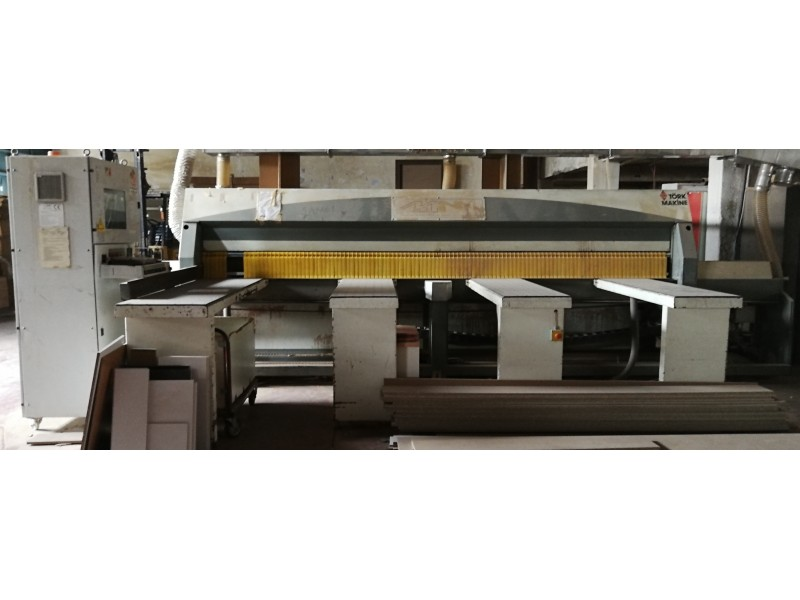 Macmazza TSP 135 Panel Ebatlama Makinası