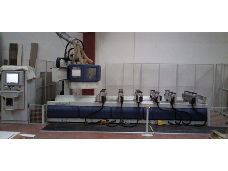 Uniteam Unicawood K CNC işlem merkezi