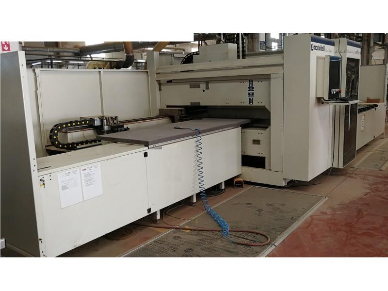 Morbidelli Uniflex S CNC Kontrollü Hat Tipi Esnek Delik Makinası