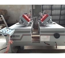 Maymak MAY-KKM Otomatik Çift Köşe Kesim ve Çift Delik Delme Makinası
